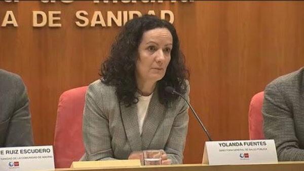 Yolanda Fuentes, ex directora de Salud de Madrid