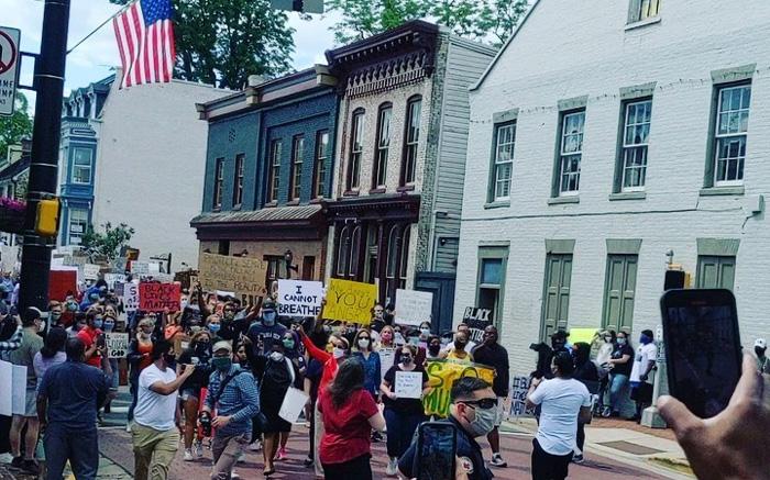 Protestas en EEUU tras la muerte de George Floyd