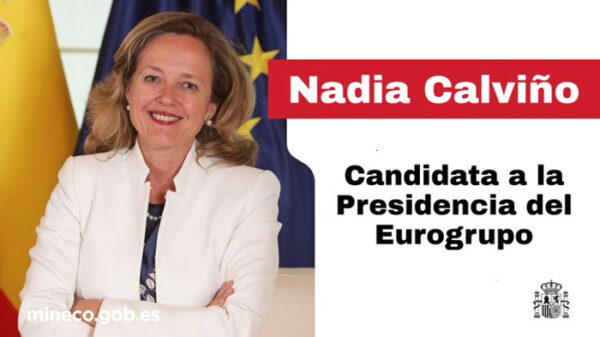 Nadia Calviño, candidata a presidir el Eurogrupo