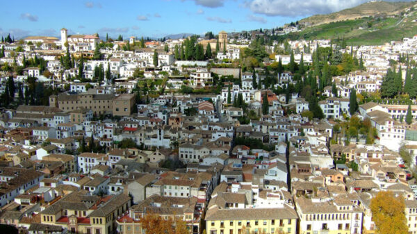 Vista de la ciudad de Granada
