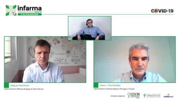 Jose Luis Fernández, DG IQVIA España, Portugal y Turquía, y Miguel Martínez, director Offering Strategy &Client Service de IQVIA