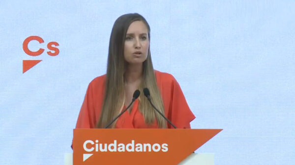 La portavoz de la Ejecutiva de Ciudadanos, Melisa Rodríguez