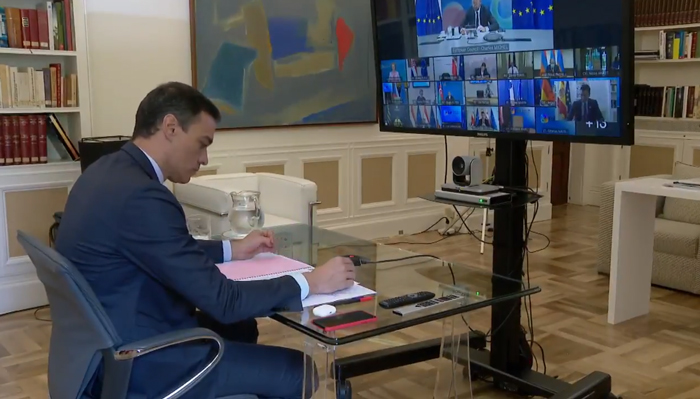 Pedro Sánchez, de reunión con la UE