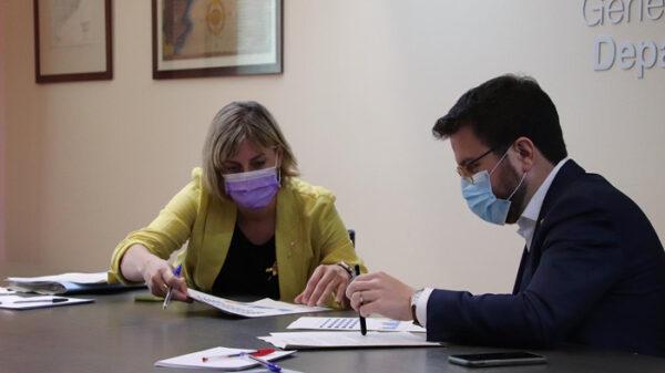 Alba Vergés, consejera de Salud catalana