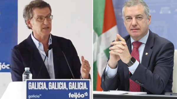 Núñez Feijóo e Íñigo Urkullu