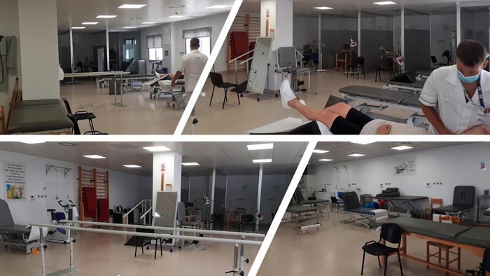 Gimnasio de rehabilitación del Hospital Universitario Infanta Elena