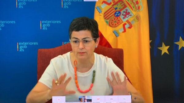 La ministra Arancha González Laya