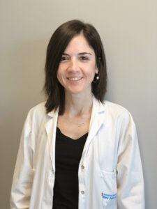 La doctora Lorena Pingarrón