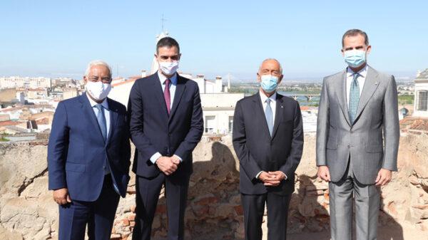 Los jefes de Estado y de Gobierno de España y Portugal
