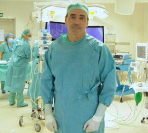 El doctor Rafael Jiménez