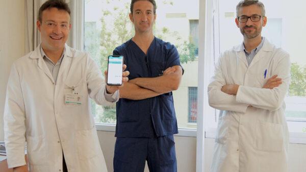 Los doctores Roberto Martín Reyes, Juan Benezet y Jorge Palazuelos