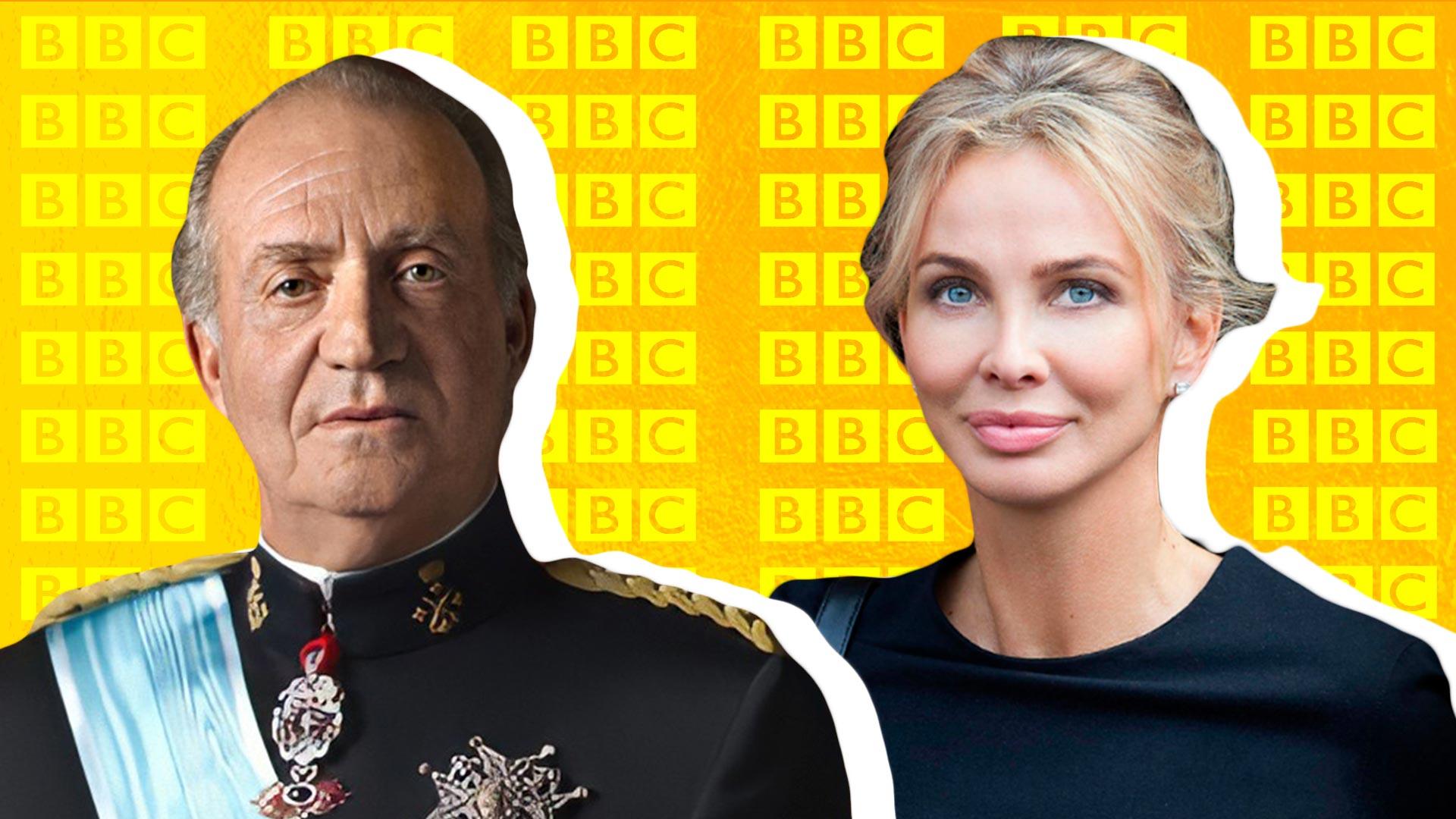 Corinna Larsen habla en la BBC y Juan Carlos tiembla - Voz Libre